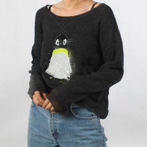 Aeo penguin sweater